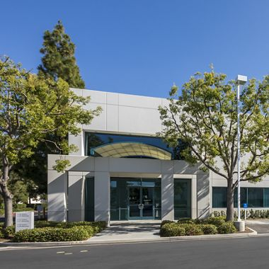 Exterior view of 25 Hubble Drive at Hubble Industrial Park.