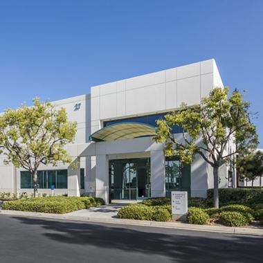 Exterior view of 27 Hubble Drive at Hubble Industrial Park.
