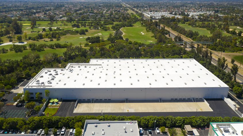 Aerial photography of Oak Canyon Business Center - 6001 Oak Canyon in Irvine, CA