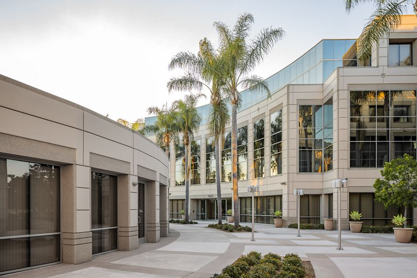 Building hero photography of Spectrum Court - 15635 Alton Parkway in Irvine, CA