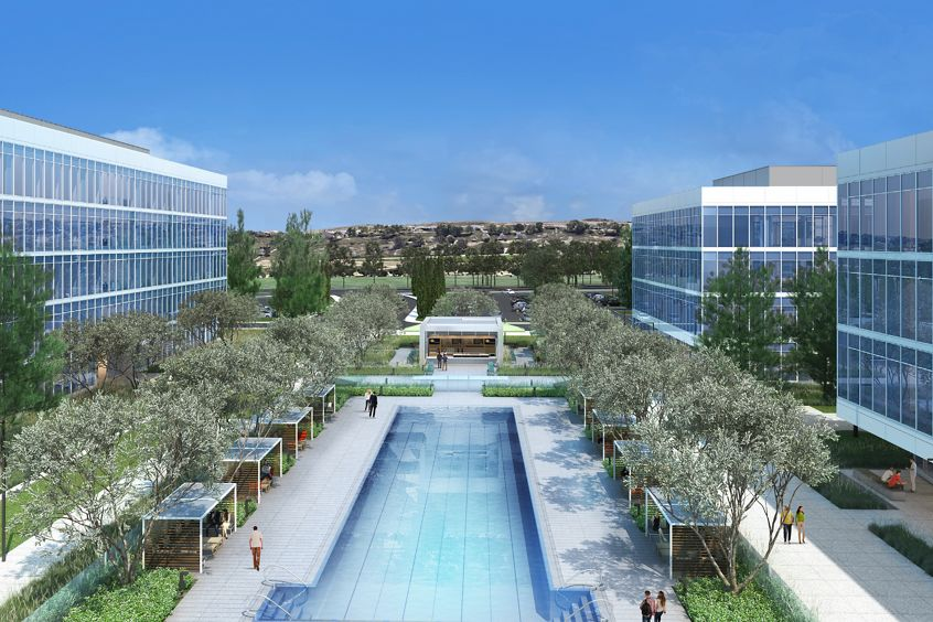 Zoomed in image of Spectrum Terrace Pool located in Irvine, CA