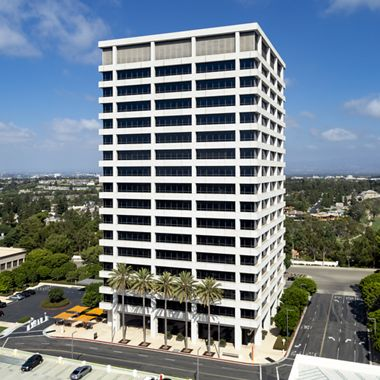 Building hero photography of 660 Newport Center Drive in Newport Beach, CA