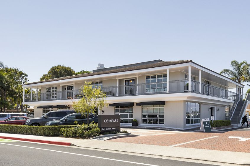 Building exterior photography of Bayside - 341 Bayside in Newport Beach, CA