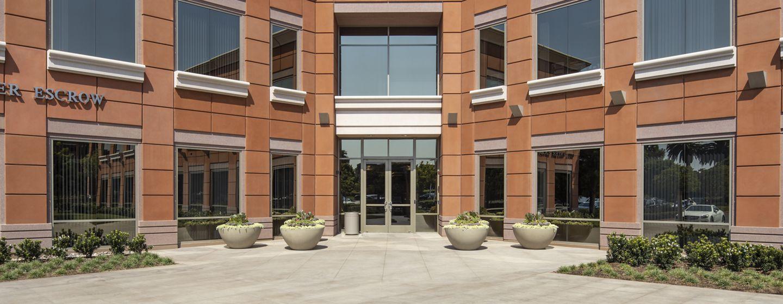 Exterior view of 1400 Newport Center Drive in Newport Beach, CA