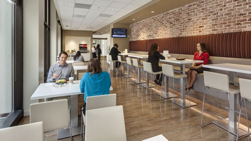 Interior views of Bistro 24 at Pacific Financial Plaza in Newport Center. RMA Photography 2015.