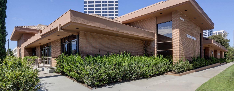 Building photography of San Joaquin Wellness Center in Newport Beach, CA