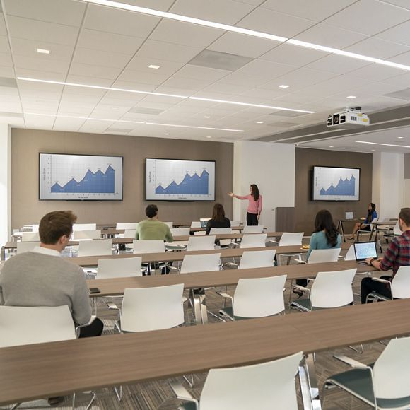 Lifestyle interior photography of the conference center at UCI Research Park - 5301 California Ave, Irvine, CA