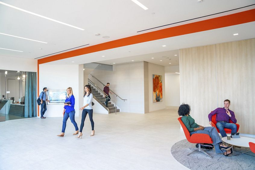 Lifestyle photography of the building at UCI Research Park - 5281 Caifornia Avenue in Irvine, CA