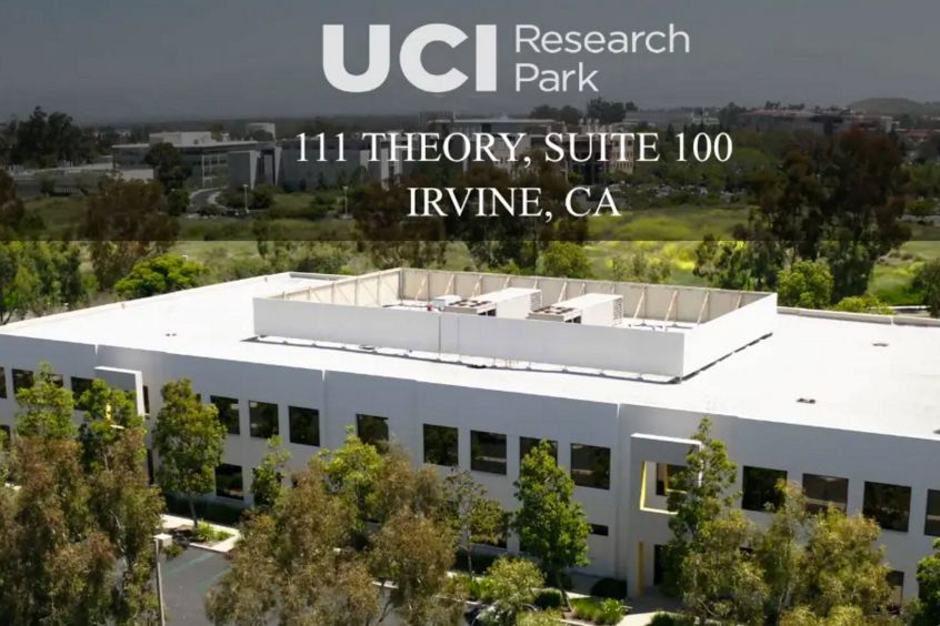 Video still image of 111 Theory, Suite 100 at UCI Research Park in Irvine, CA