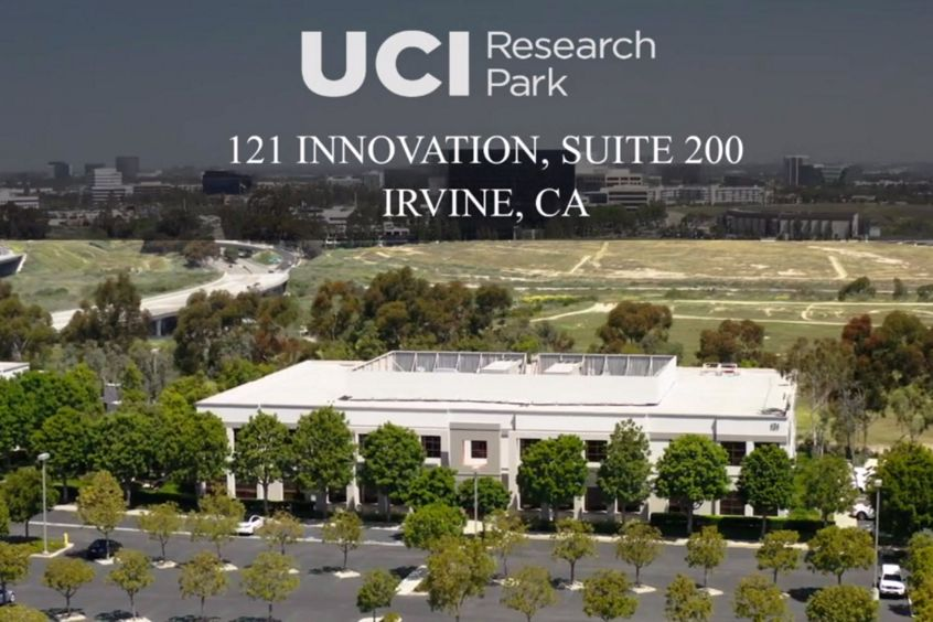 Video still image of 121 Innovation, Suite 200 at UCI Research Park in Irvine, CA