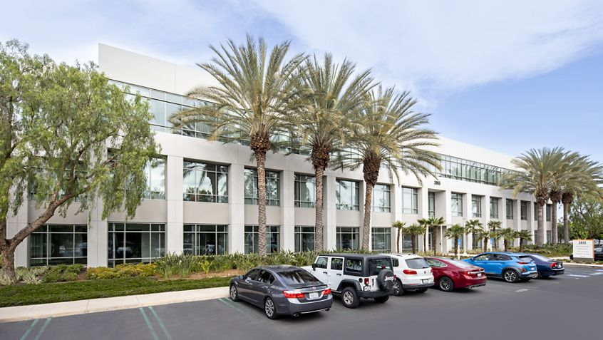 Building hero photography of Jamboree Business Center - 2855 Michelle Drive in Irvine, CA