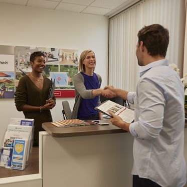 Photography of the Customer Resource Center (CRC) at Market Place Center - 350 Commerce in Irvine, CA