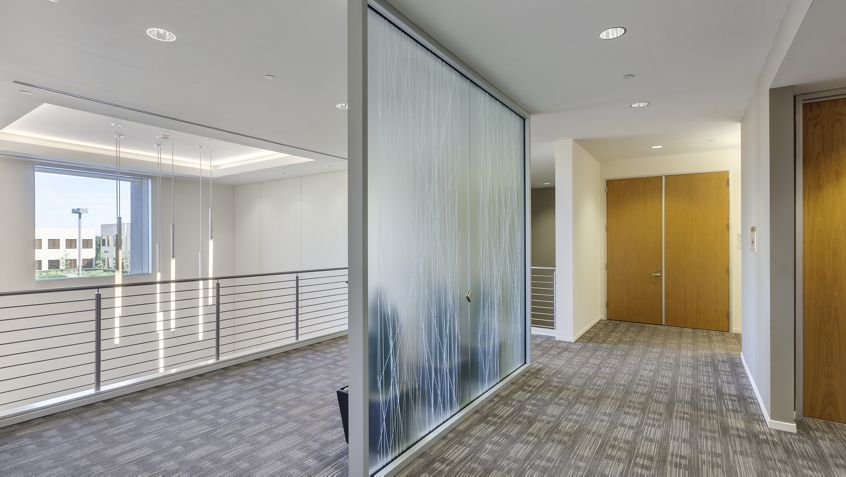Interior view of 420 Exchange at Market Place Center.