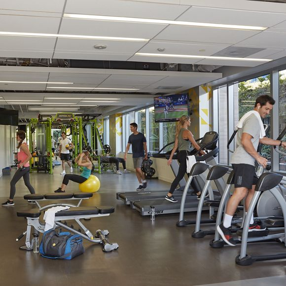 Photography of KINETIC Fitness Center at Township 14 in San Diego, CA