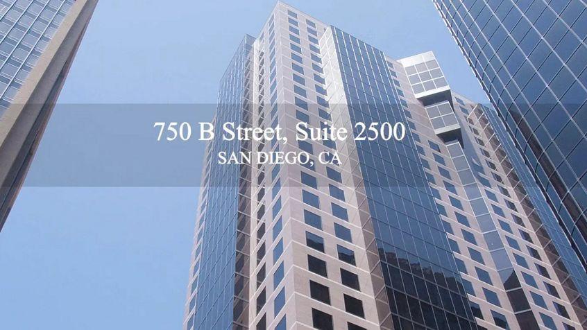 Still Image for 750 B Street in San Diego, CA