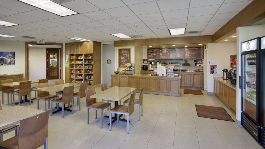Views of Plaza Deli at the Wells Fargo Office Tower in Downtown San Diego. RMA Photography 2012.