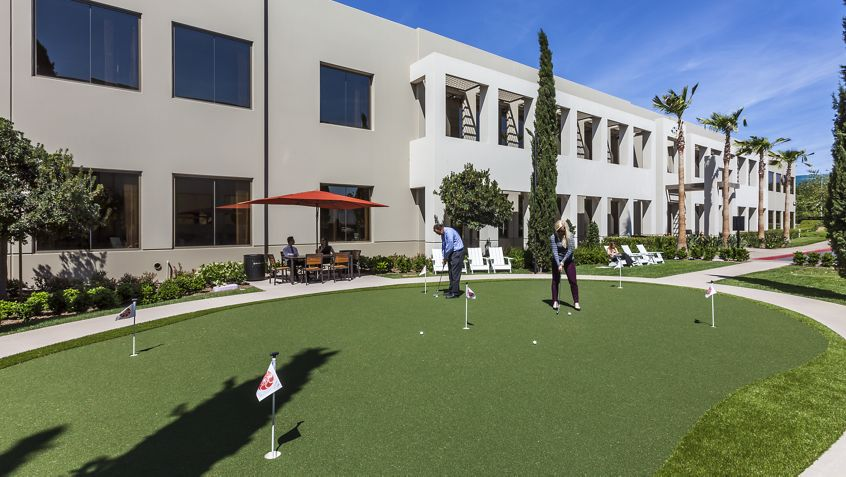 Putting green at Eastgate.