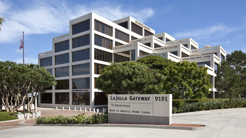 General views of La Jolla Gateway Office Buildings. Moore 2010. Shared Drive Submission - July 16, 2010.