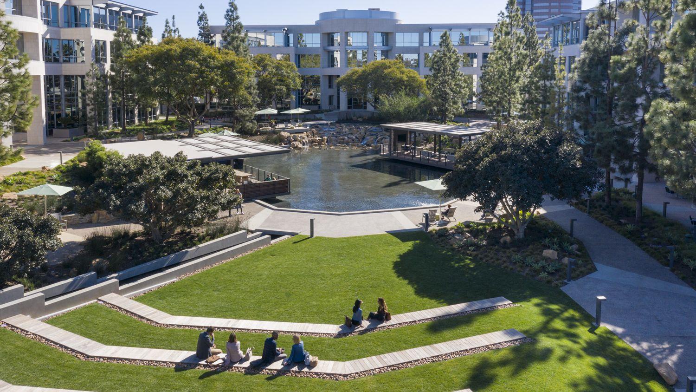 Exterior view of La Jolla Reserve in San Diego, CA.