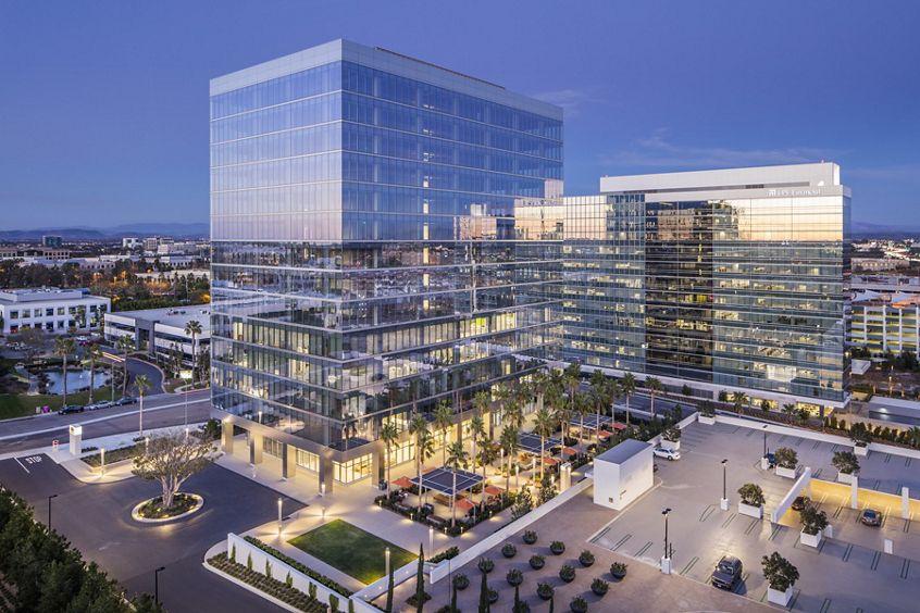 Building photography of One La Jolla Center, San Diego, California