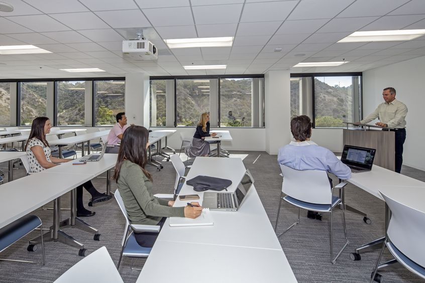 Conference room photography at Centerside in San Diego, CA