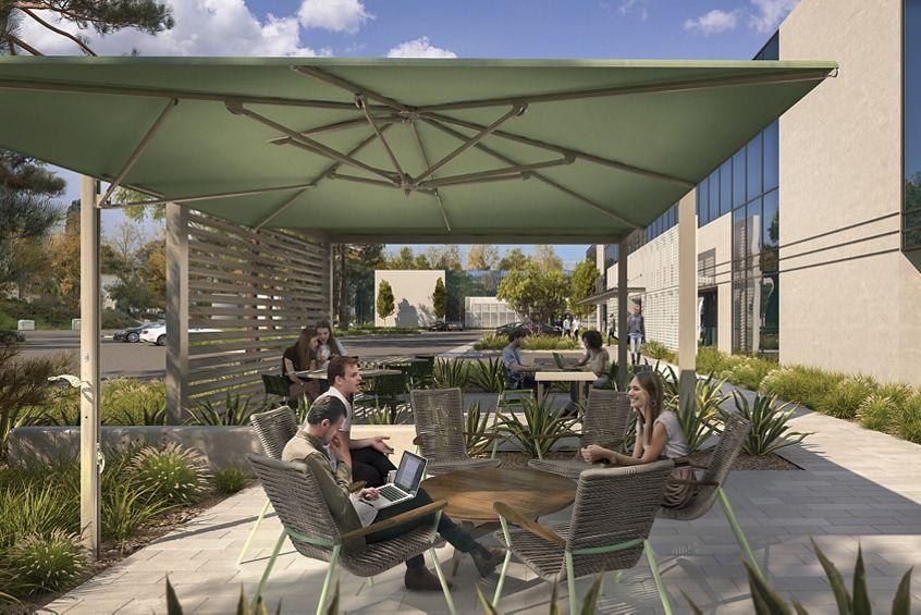 Rendering of Cornerstone Corporate Center in San Diego, CA