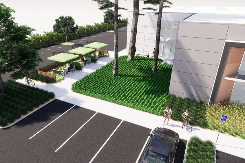 Rendering of Terra Bella in Mountain View, CA