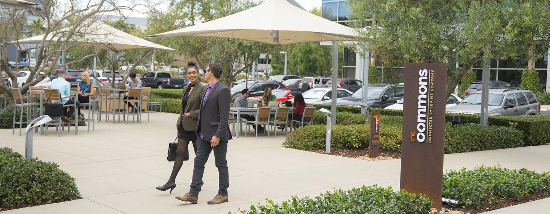 Lifestyle photography of the Commons at Santa Clara Gateway, Santa Clara, Ca