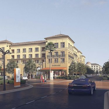 Renderings of Santa Clara Square Retail
