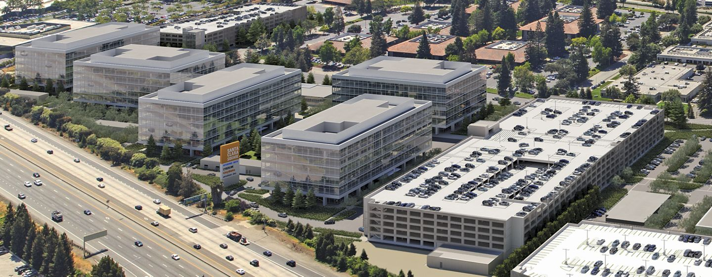 Renderings of Santa Clara Square Phase Two and Three