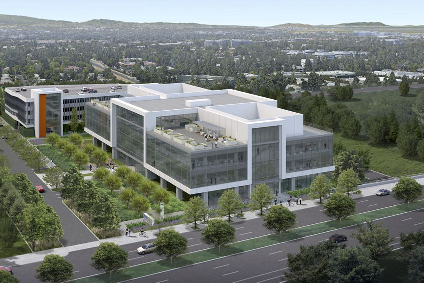 Rendering view of 275 North Mathilda in Sunnyvale, CA