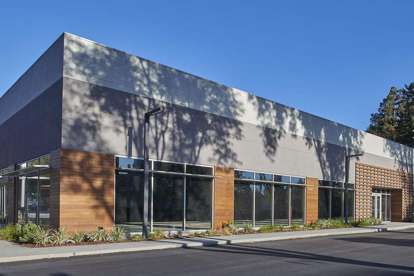 Exterior building photography of 601-605 W. California in Sunnyvale, CA
