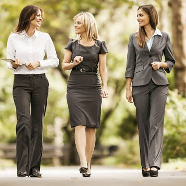 Three happy business women enjoying while walking in the park.   [url=http://www.istockphoto.com/search/lightbox/9786622][img]http://dl.dropbox.com/u/40117171/business.jpg[/img][/url]