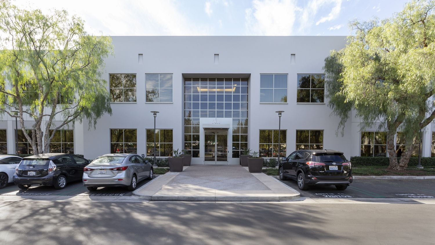 Before photography of the reinvestment at Oak Creek Business Center - 6410 Oak Canyon in Irvine, CA