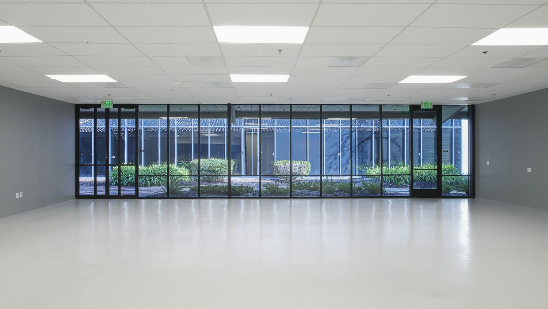 Before photography of future conference center location at 3910 Freedom Circle at Santa Clara Park, Santa Clara, Ca